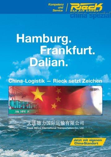 der China Spezialist - Rieck Logistik-Gruppe