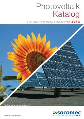 Photovoltaik Katalog - Socomec