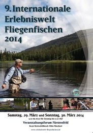 9. Internationale Erlebniswelt Fliegenf ischen 2014 ...