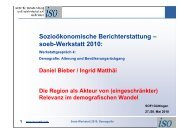 Demografischer Wandel und Region - fV db 2010 06 14 - soeb.de