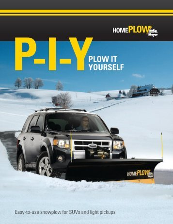 Plow IT YourSelf