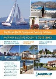 Worldwide Yacht Rallies and Boating Holidays Worldwide Yacht ...