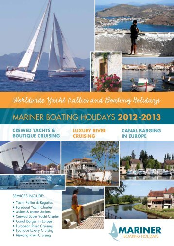 Worldwide Yacht Rallies and Boating Holidays Worldwide Yacht ...