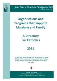 directory 2011 web.pub - Archdiocese of Brisbane