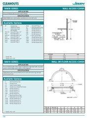 Catalog Sheet - Josam