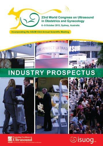 industry prospectus - Australasian Society for Ultrasound in Medicine