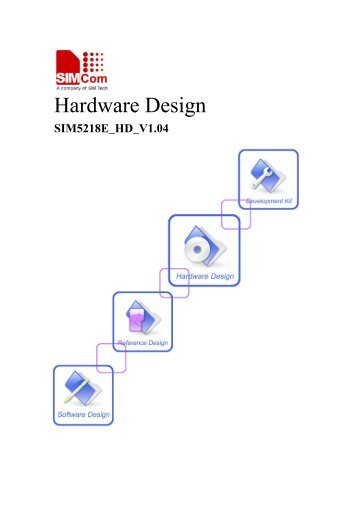SIM5218 Hardware Design - Cooking Hacks