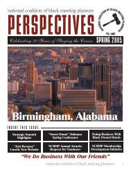 Perspective 2005 (Spring) - National Coalition of Black Meeting ...