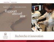 uottawa Recherche et innovation - Faculté de médecine de l ...