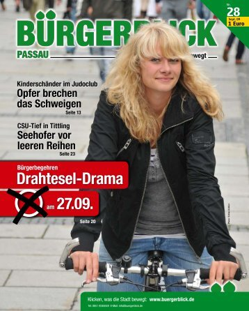 Drahtesel-Drama am 27.09.