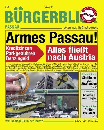 Alles fließt nach Austria