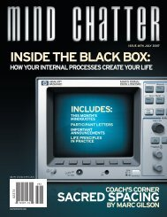 Mind Chatter #174 (July, 2007) (PDF) - Centerpoint Research Institute