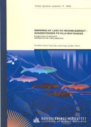 Hindar m. fl. 1991 - Havforskningsinstituttet