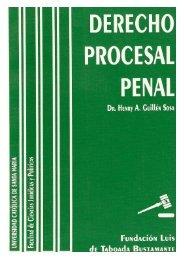 Derecho Procesal Penal - Universidad Católica de Santa María