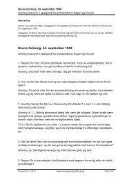 Gröning besvarer ti spørgsmål fra pressefolkene Hagen og Heuner