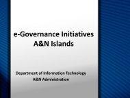 e-Governance Road Map Venue: Conference Hall ... - eGovReach