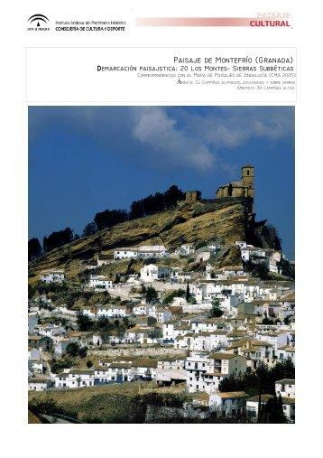 Paisaje de Montefrío (Granada)