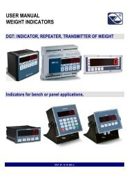 User manual DGT1.pdf - Vetek Scales