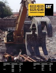 G112/G115 G125/G140 Contractor's Grapples - Kelly Tractor