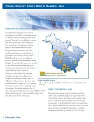 Fossil Energy Study Guide: Natural Gas - DOE - Office of Fossil Energy