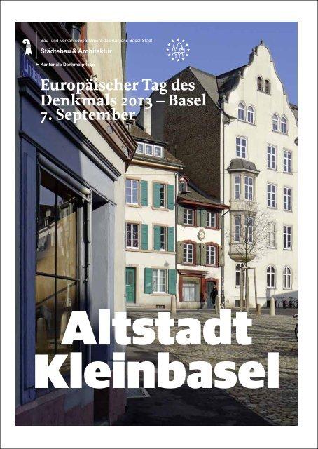 Europäischer Tag des Denkmals 2013 - Denkmalpflege - Kanton ...