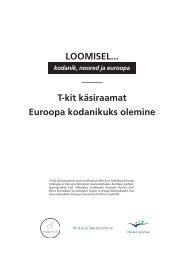 Euroopa Kodanikuks olemine - Euroopa Noored