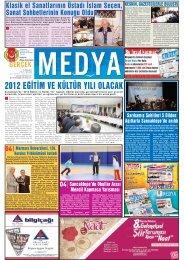 2012 eğitim ve kültür yılı olacak - gerçek medya gazetesi