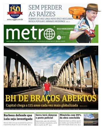SEM PERDER AS RAÍZES - Metro