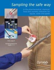 Sampling the safe way - Dynalab Corp.