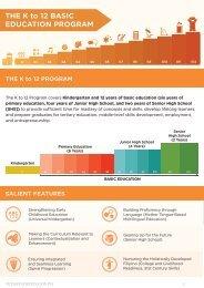 K to 12 Program - Presidential Communications Development and ...