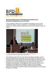 Zusammenfassung der Informationsveranstaltung - Ehrenamt Emsland