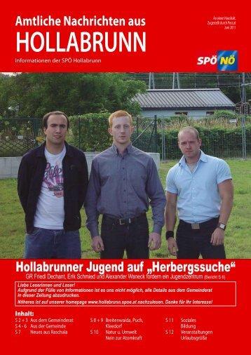 Nachrichten aus - Hollabrunn - SPÖ