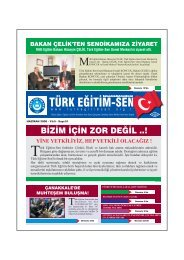 Mehmet BULUT - Türk Eğitim-Sen