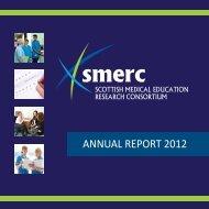 AnnuAl rEPort 2012 - School of Medicine - University of Dundee
