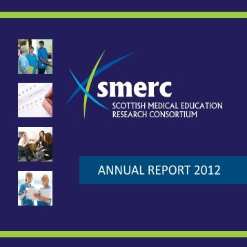 AnnuAl rEPort 2012 - School of Medicine - University of Dundee