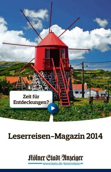 Leserreisen-Redaktion - Kölner Stadt-Anzeiger