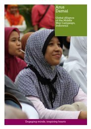 Our work in Indonesia - Radical Middle Way