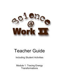 Download a PDF of the Teacher's Guide for this module - WBGU
