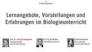Sarah Dannemann Prof. Dr. Harald Gropengießer Prof. Dr. Kai Niebert
