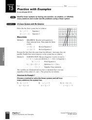 7.5 Practice with Examples - WorthysAlgebraClass