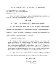 Order Amending Supreme Court Rule 20(h) - Delaware State Courts ...