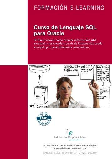 FORMACIÓN E-LEARNING - Iniciativas Empresariales
