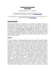 A Produção de ARVs no Brasil - Abia