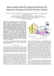 Sparse-Matrix-Based Compressed Sensing for Spectrum Sensing in ...