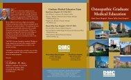 Osteopathic Graduate Medical Education - Huron Valley-Sinai ...