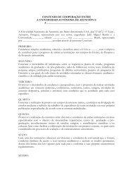 convenio de cooperao entre - Universidad Autónoma de Asunción