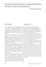 interpretacion de la hemodinamia venosa con ecodoppler