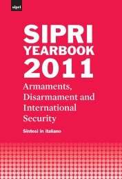 SIPRI Yearbook 2011: Armaments, Disarmament and International ...