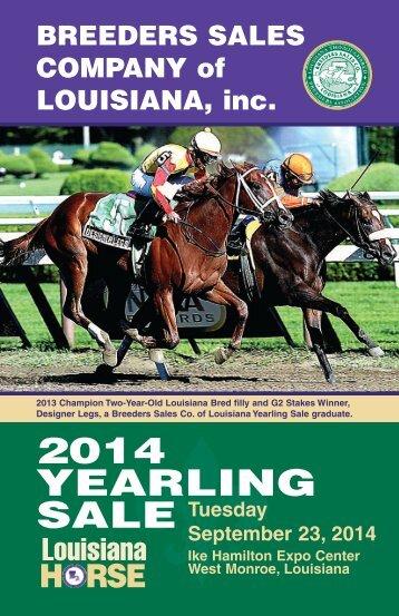 2014_Breeders_Sale_catalog
