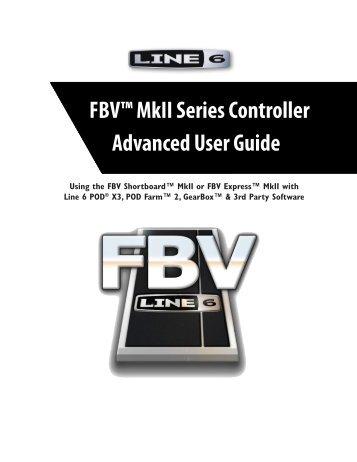 Line 6 FBV MkII Advanced User Guide, English (Rev. 2)
